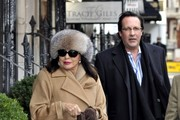 Joan Collins Wool Coat