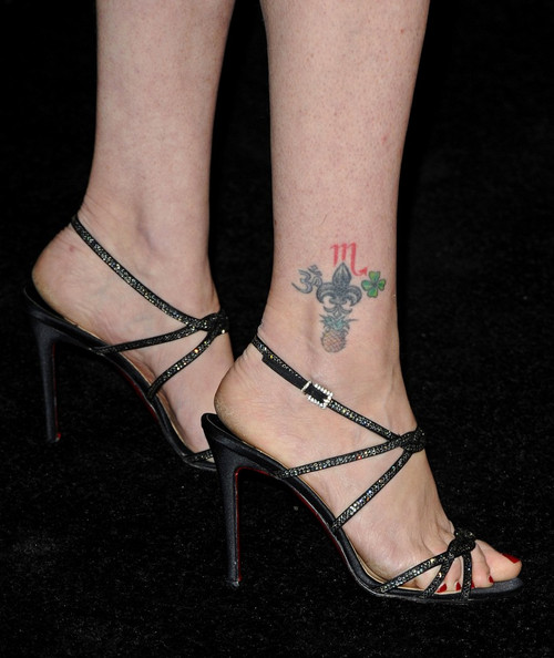 Joely Fisher Artistic Design Tattoo