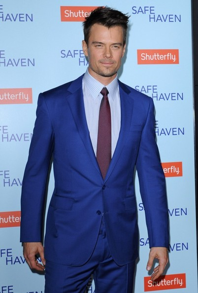 Josh Duhamel Men's Suit