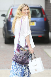 Joss Stone was spotted outside the ITV Studios carrying a cute patchwork shoulder bag.