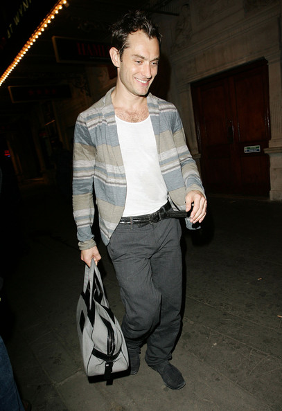 Jude Law Nylon Suitcase