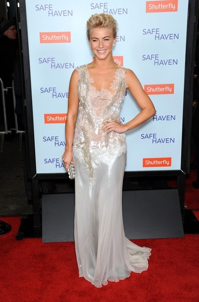 Julianne Hough Beaded Dress