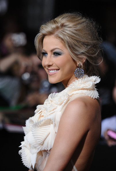 more pics of julianne hough messy updo 1 of 4 messy