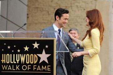 Julianne Moore Joseph Gordon-Levitt Julianne Moore Honored on the Walk of Fame — Part 3