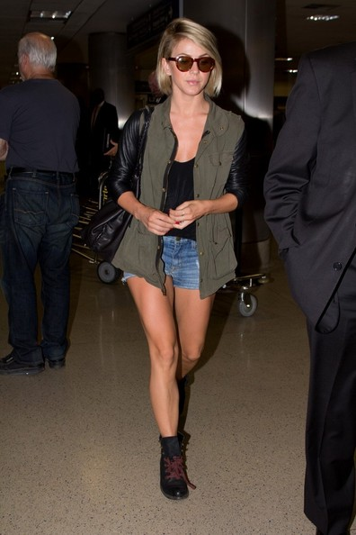 More Pics of Julianne Hough Denim Shorts (3 of 30) - Julianne Hough Lookbook - StyleBistro