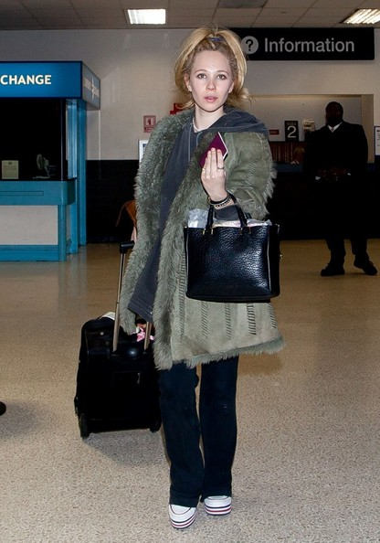 Juno Temple Suede Jacket