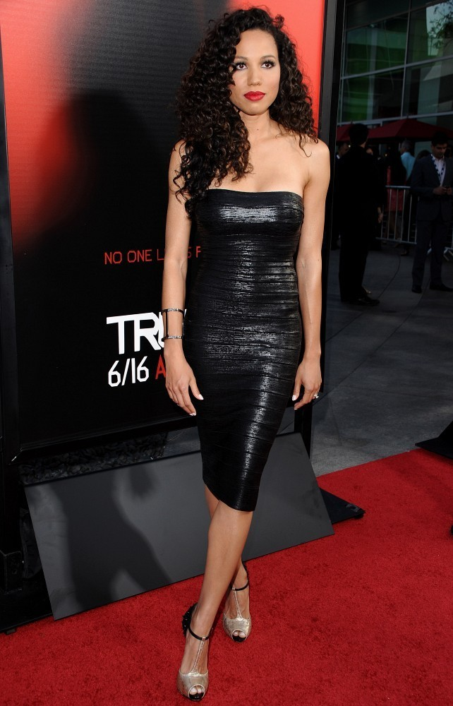 Jurnee Smollett Bell Little Black Dress Jurnee Smollett