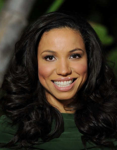 Jurnee Smollett Metallic Eyeshadow