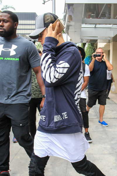 More Pics of Justin Bieber Crosstrainers (1 of 11) - Athletic Shoes Lookbook - StyleBistro []