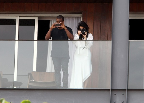 Kim, Kanye, and Will Take Each Others Pictures