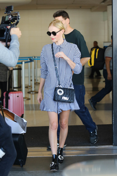 Kate Bosworth Quilted Leather Bag
