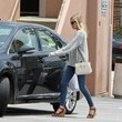 Wedges and Print Jeans Like Kate Bosworth