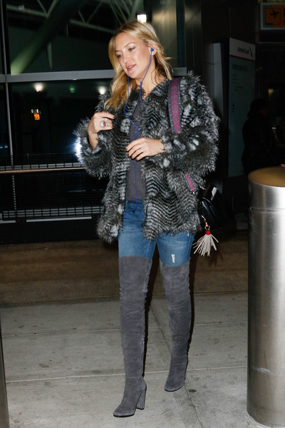 Kate Hudson Fur Coat