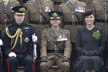 Kate Middleton Prince William Royal Couple Celebrates St. Patrick's Day