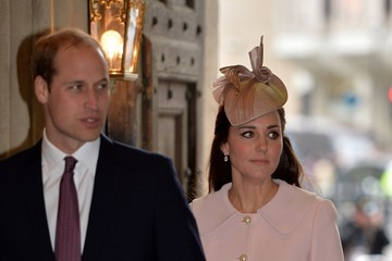 Kate Middleton Prince William Commonwealth Service at Westminster Abbey