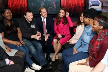 Kate Middleton Prince William Prince William and Catherine Support Development Opportunities For Young People