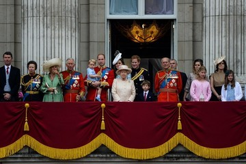 Kate Middleton Queen Elizabeth II Trooping The Colour 2015