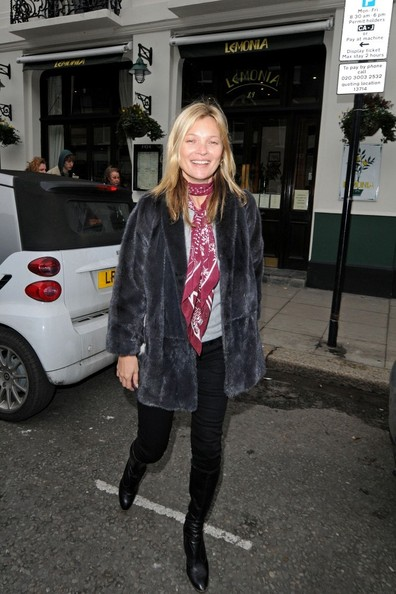 Kate Moss Out to Lunch
