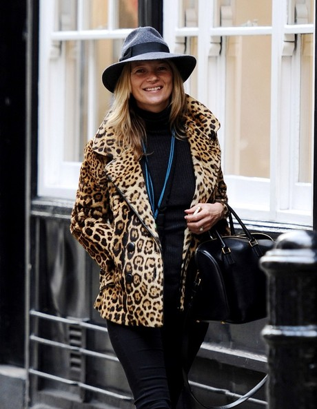 More Pics of Kate Moss Fedora (1 of 14) - Fedora Lookbook - StyleBistro