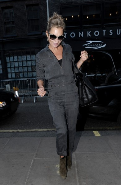 More Pics of Kate Moss Jumpsuit (1 of 6) - Kate Moss Lookbook - StyleBistro
