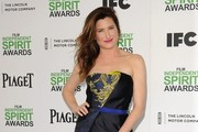 Kathryn Hahn Satin Clutch