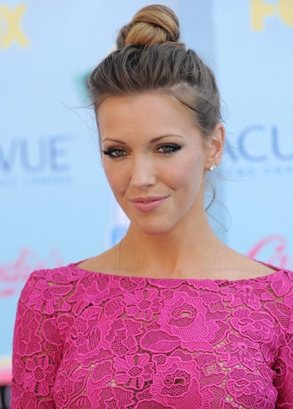 Katie Cassidy Hair Knot