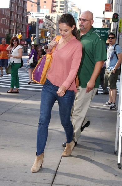 More Pics of Katie Holmes Ankle boots (14 of 17)