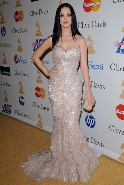 Katy Perry Beaded Clutch []