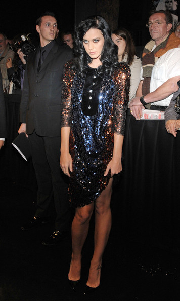 Katy Perry Sequin Dress []
