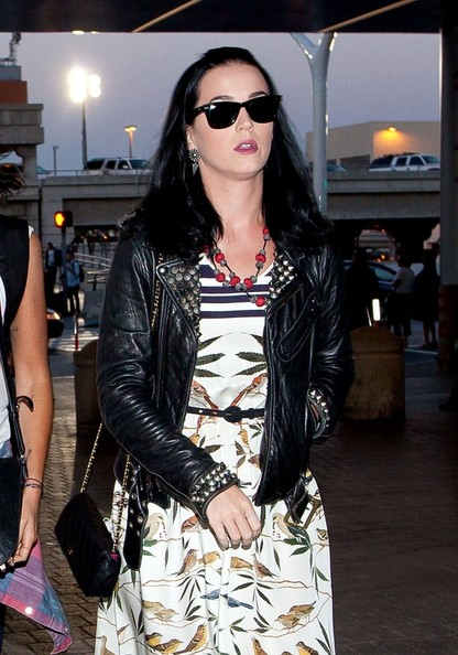Katy Perry Quilted Leather Bag []
