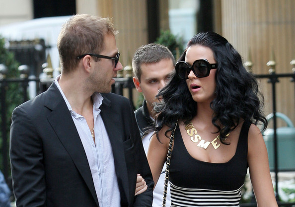 Katy Perry Gold Statement Necklace []