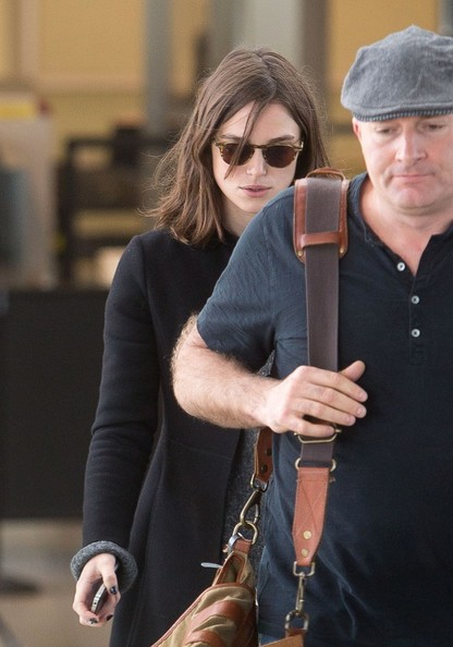 Keira Knightley Lands in LA