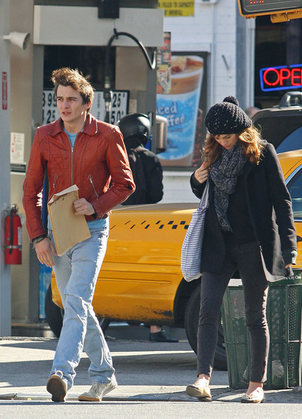 Keira Knightley and Rupert Friend at The Cupping Room Cafe