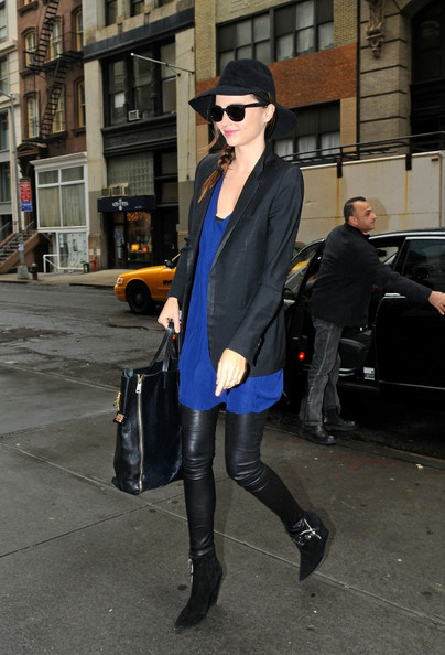 More Pics of Miranda Kerr Ankle Boots (1 of 7) - Miranda Kerr Lookbook - StyleBistro