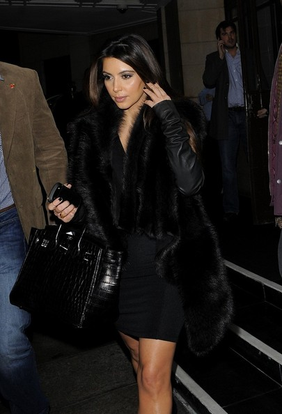 More Pics of Kim Kardashian Ankle Boots (1 of 12) - Boots Lookbook - StyleBistro