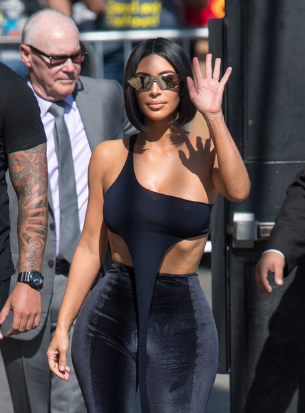 Kim Kardashian Designer Shield Sunglasses
