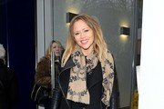 Kimberley Walsh Patterned Scarf