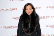 Kristin Scott Thomas Fur Coat