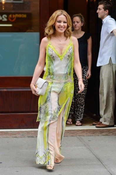 Kylie Minogue Maxi Dress