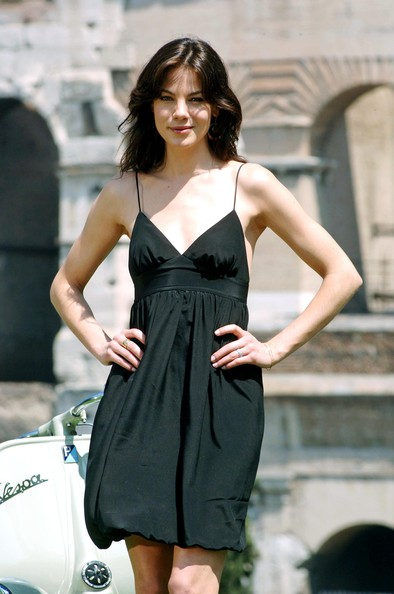 More Pics of Michelle Monaghan Baby Doll Dress (1 of 2) - Michelle Monaghan Lookbook - StyleBistro