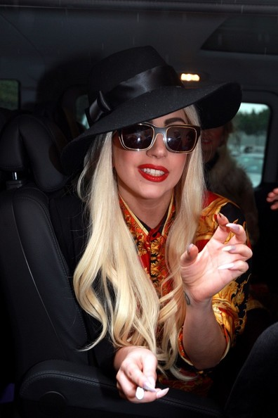 Lady Gaga Sun Hat
