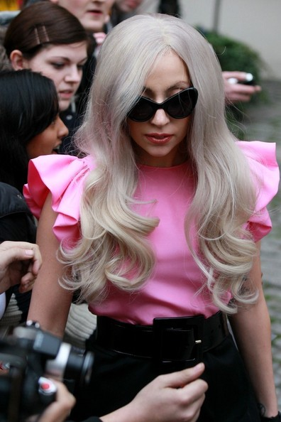 Lady Gaga Long Curls