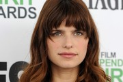 Lake Bell Long Curls with Bangs