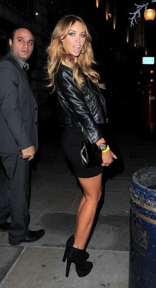 More Pics of Lauren Pope Leather Jacket (1 of 14) - Outerwear Lookbook - StyleBistro