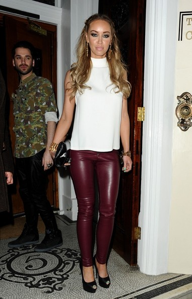 Lauren Pope Leather Pants