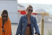 LeAnn Rimes Denim Shorts