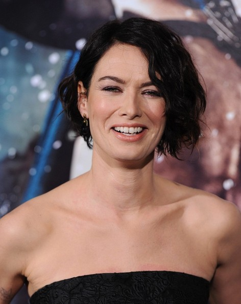 Lena Headey Messy Cut