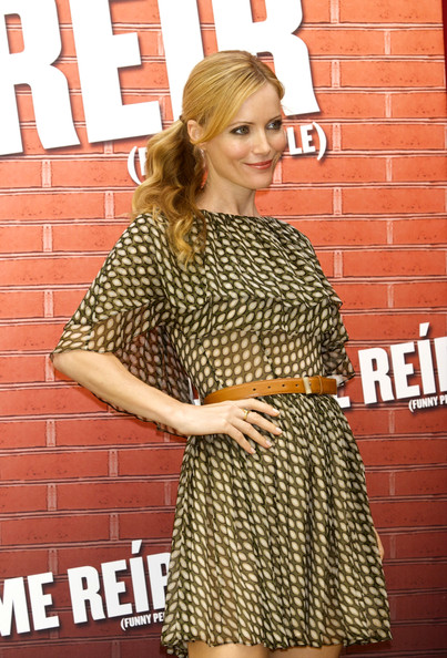 Leslie Mann Leather Belt