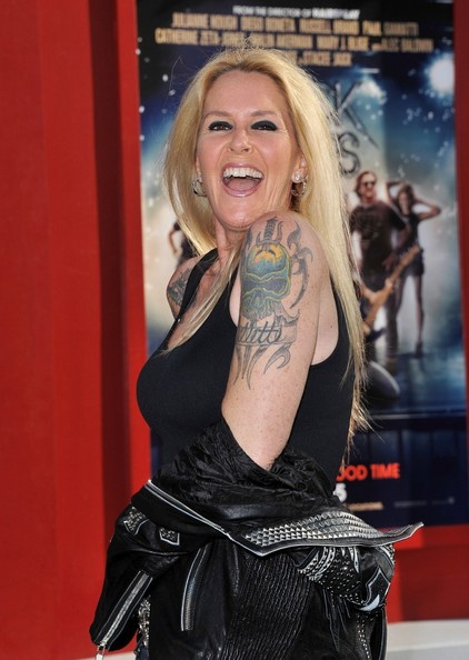 Lita Ford Skull Tattoo