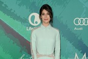 Lizzy Caplan Box Clutch